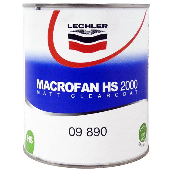 Macrofan 2000 Mattklarlack Lechler