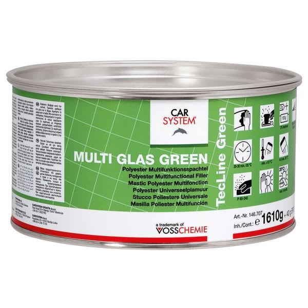 Carsystem Multi Glas Green Glasfaserspachtel