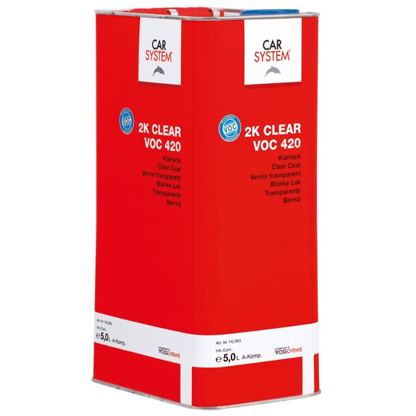 2K Clear VOC 420 Klarlack Carsystem
