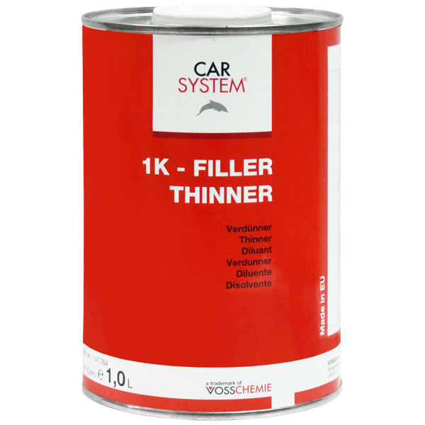 1K Filler Thinner 147.764 Carsystem