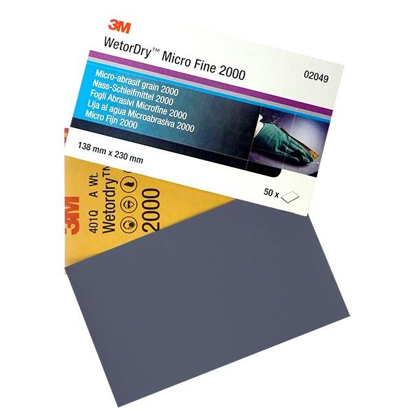 3M 401Q Wetordry Nassschleifpapier - Autolack Lackprofi24