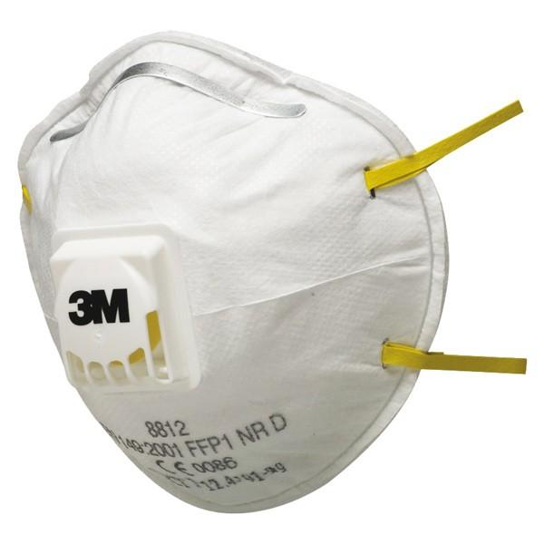 Atemschutzmaske 8812 mit Ventil 3M