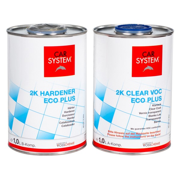 2K Clear VOC Eco Plus Carsystem