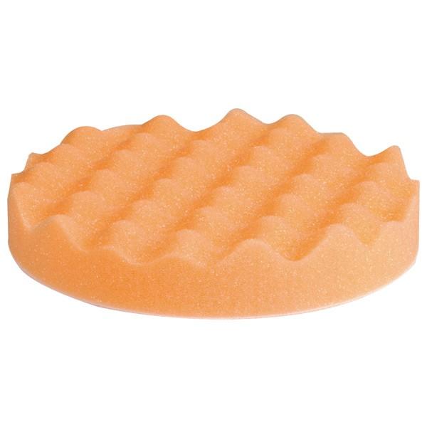 Finish waffle Pad orange Polierschwamm Carsystem