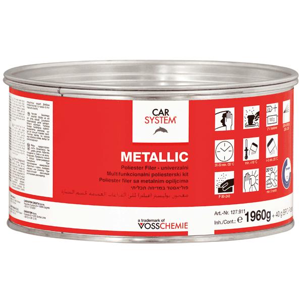 Carsystem Metallic Polyesterspachtel
