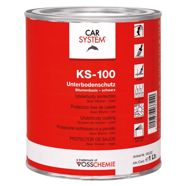 KS-100 Unterbodenschutz streichbar Carsystem