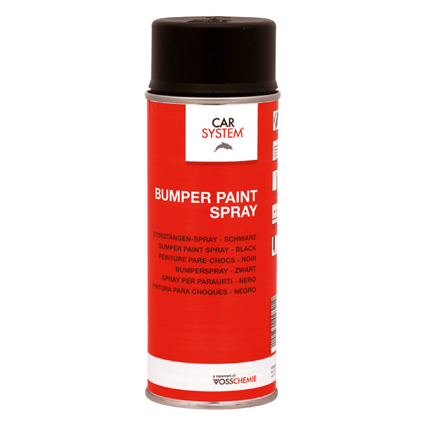 Bumper Paint Spray 400ml Carsystem