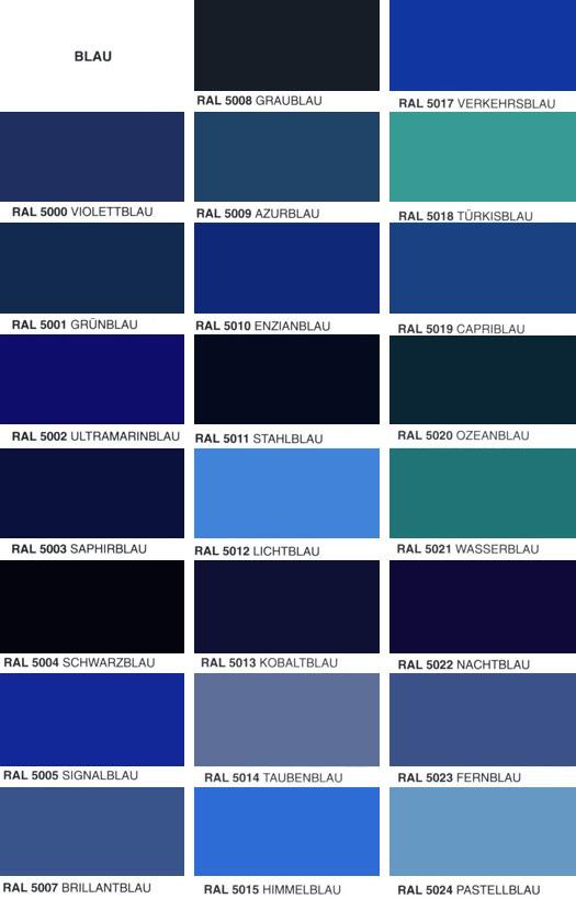 Autolacke Farben.Ral Farben übersicht Lackprofi24 De