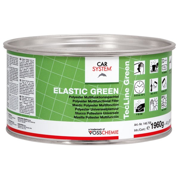 Carsystem Elastic Green Feinspachtel