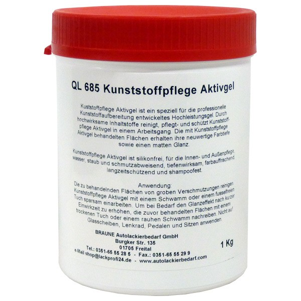 Kunststoffpflege Aktivgel Felisol®