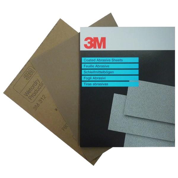 3M Schleifpapier 312 Nassschleifpapier  - Autolack Lackprofi24