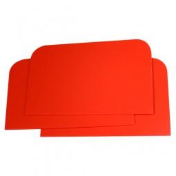Plastikspachtel rot 115 mm x 77 mm