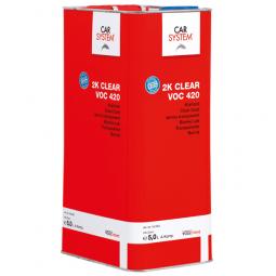 2K Clear VOC 420 Klarlack 5 Liter